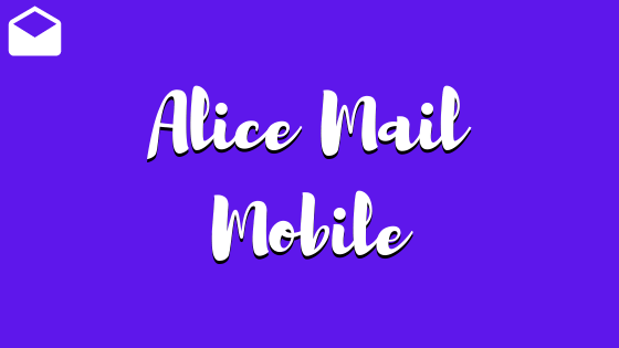 alice mail mobile, tim mail mobile