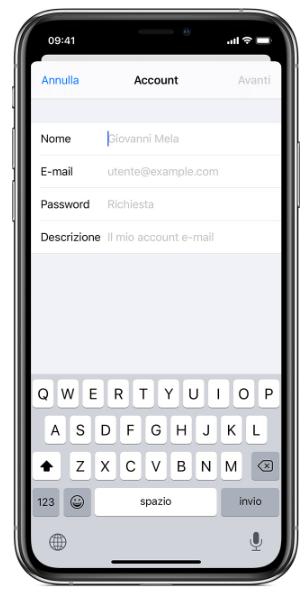 alice mail mobile accesso personale
